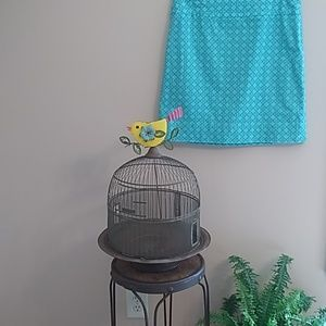 Talbot's turquoise size 10 A line skirt #T00007S